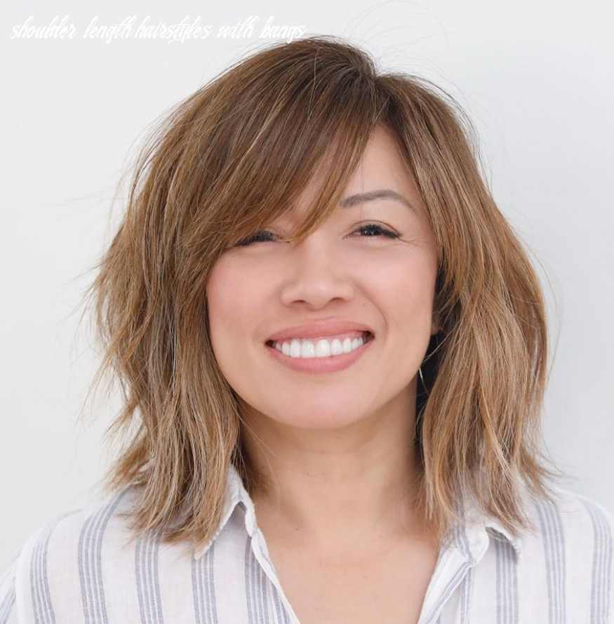 10 Trendy Haircuts and Hairstyles with Bangs in 10 - Hair Adviser
