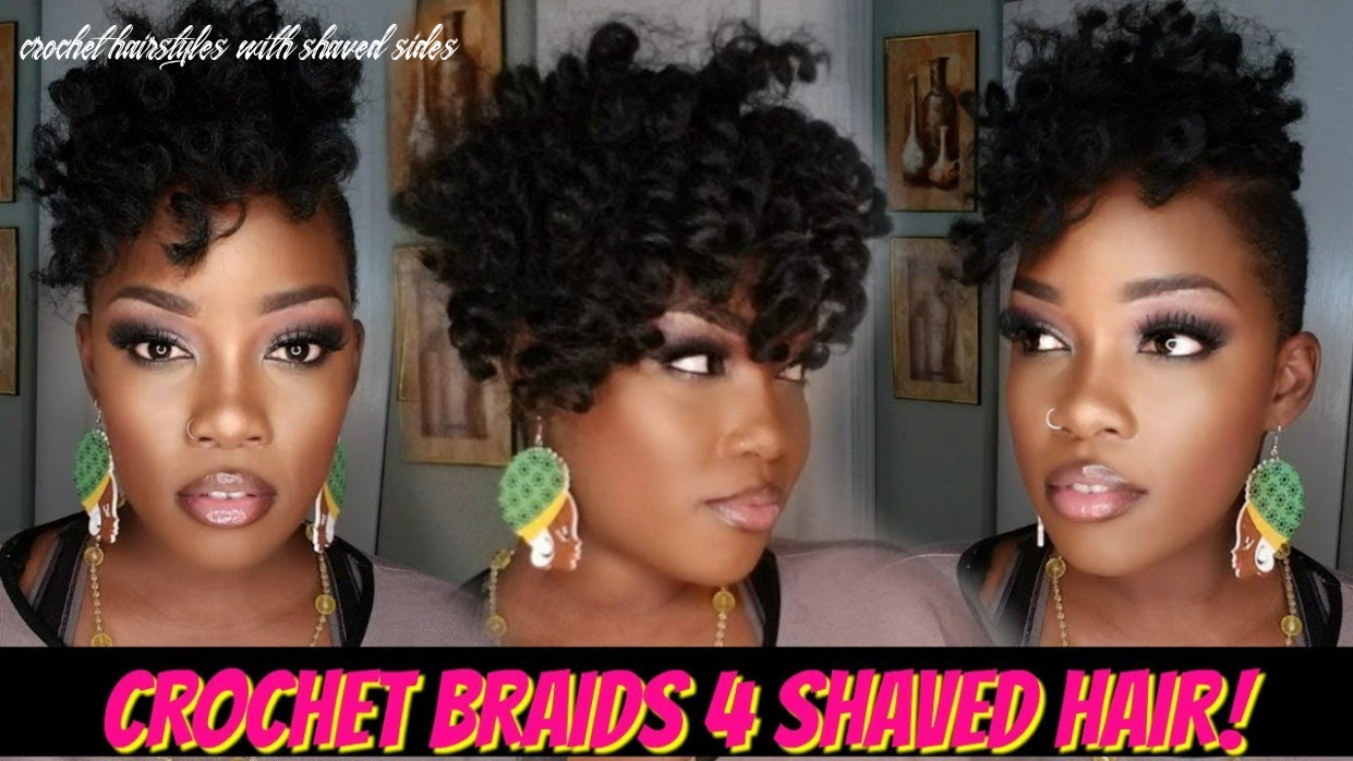 ?11 PACK CROCHET BRAID QUICKIE 11 SHAVED HAIR! | JAMAICAN BOUNCE