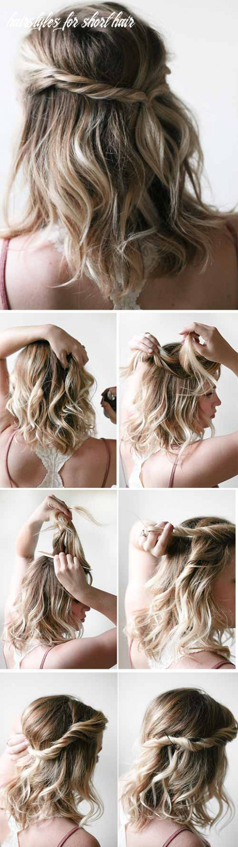 12 Incredible DIY Short Hairstyles - A Step-By-Step Guide