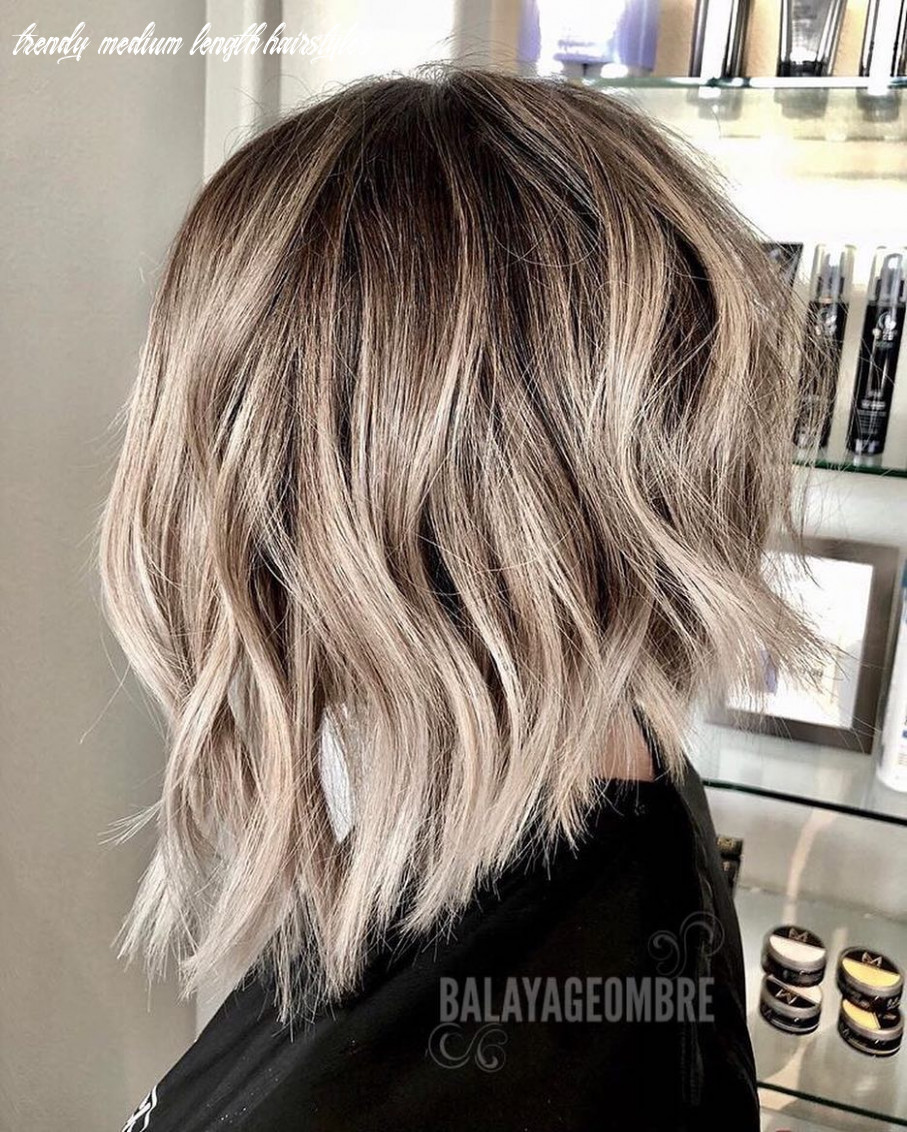 12 Trendy Ombre and Balayage Hairstyles for Shoulder Length Hair 12