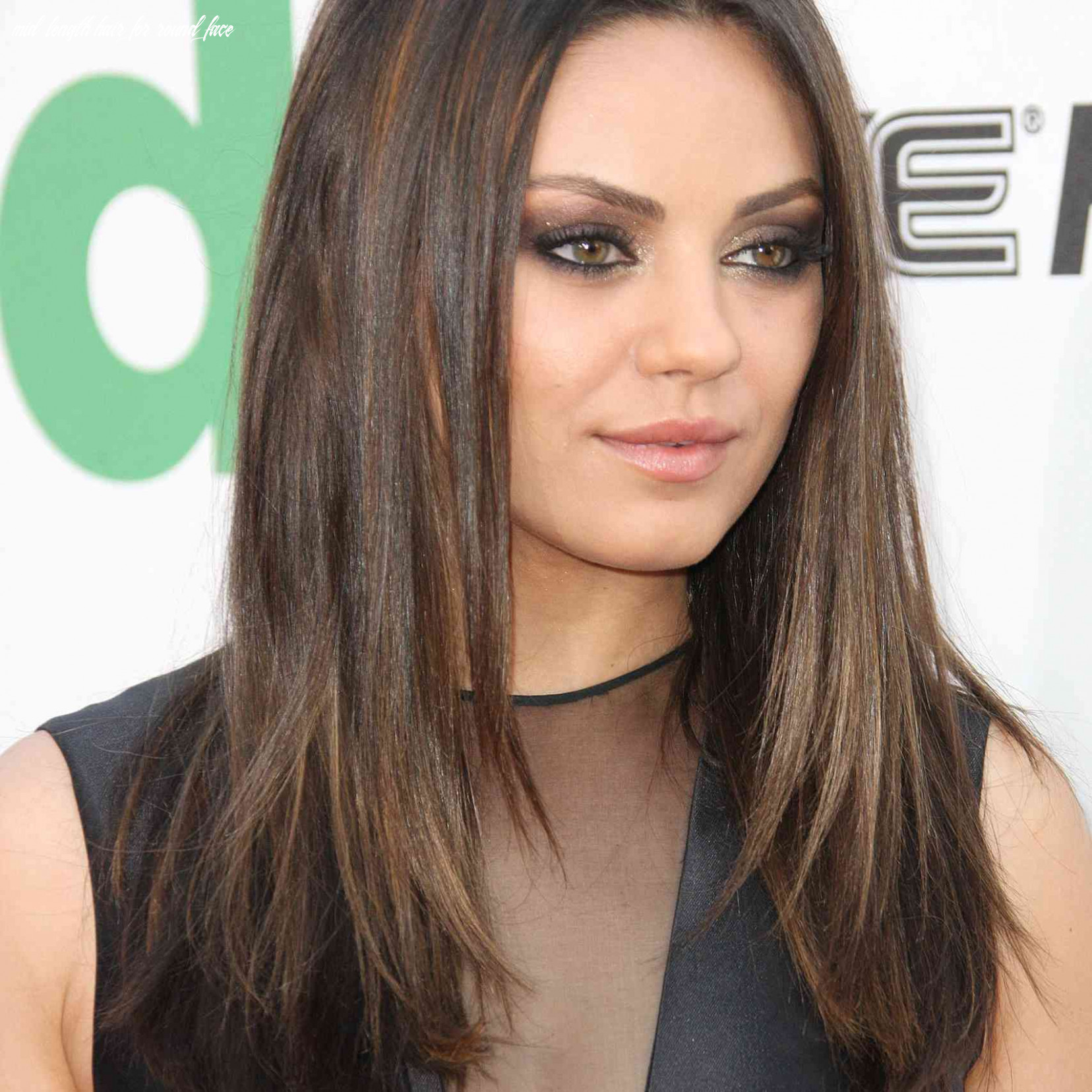 8 Flattering Hairstyles for Round Faces