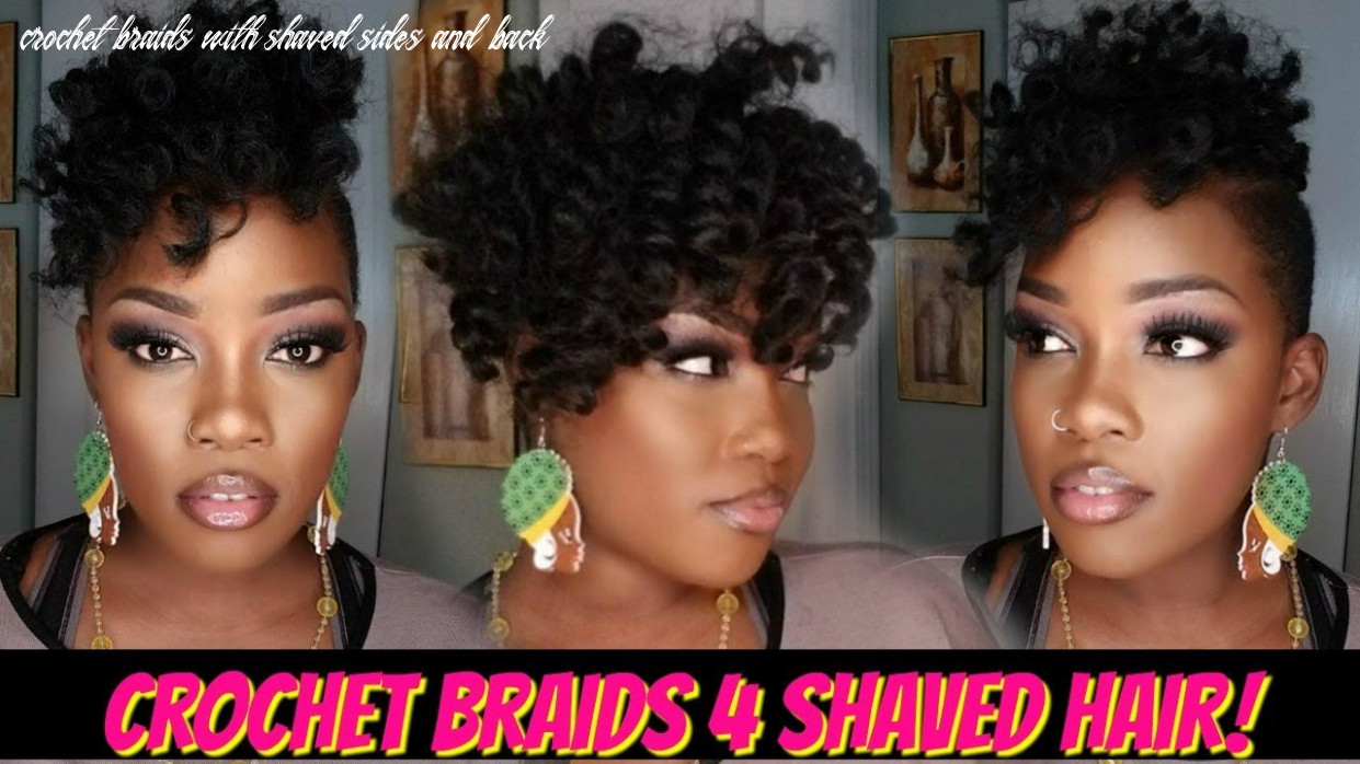 ?8 PACK CROCHET BRAID QUICKIE 8 SHAVED HAIR! | JAMAICAN BOUNCE