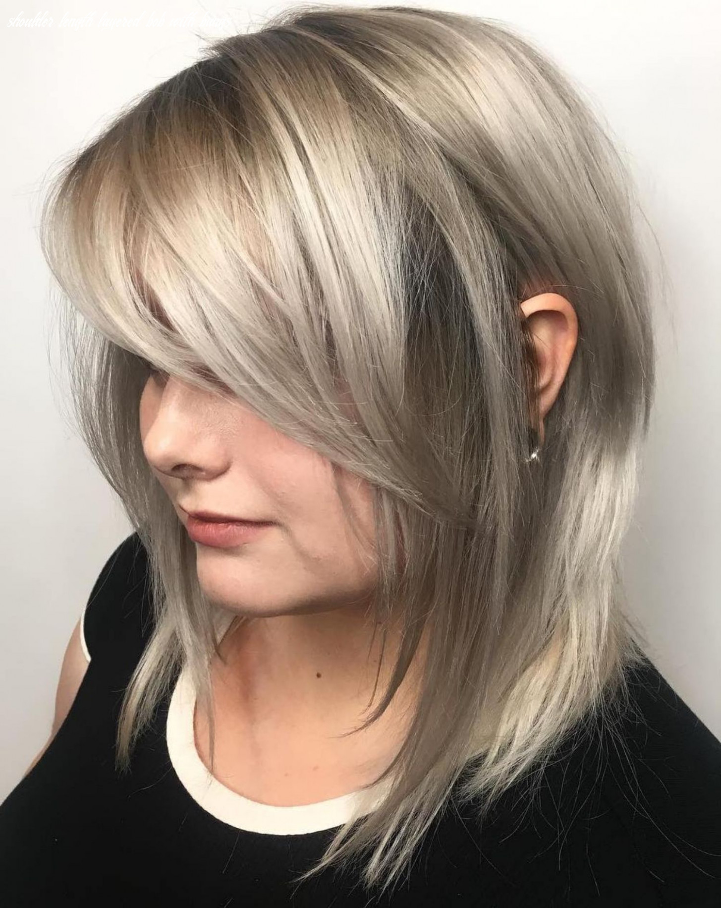 8 Side-Swept Bangs to Sweep You off Your Feet | Medium length ...