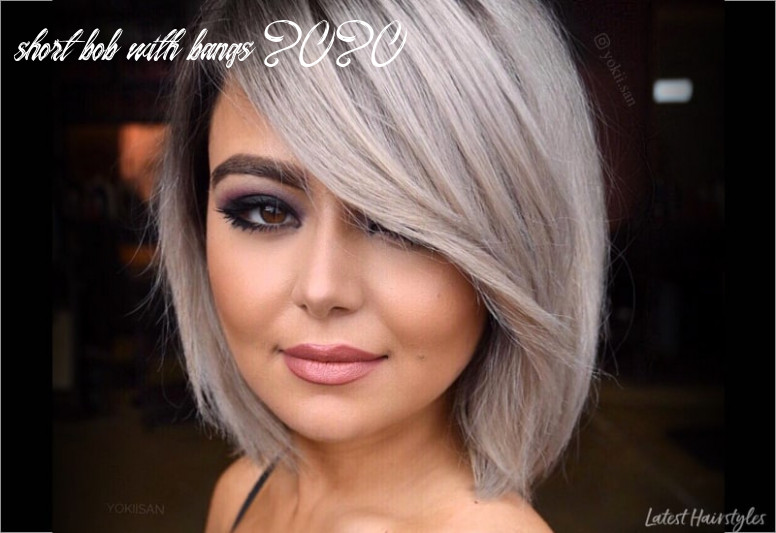 9 Hottest Short Bob with Bangs You'll See in 9