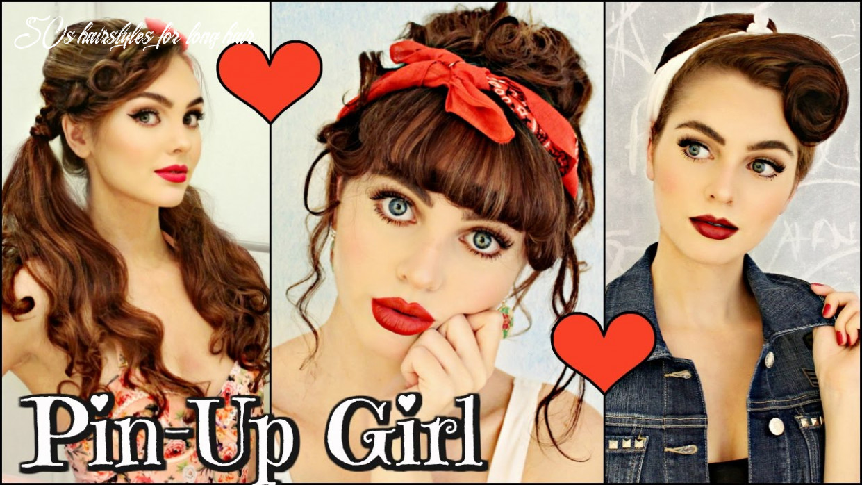 9 Vintage/Retro PIN UP Girl Hairstyles! (9 / 9's)