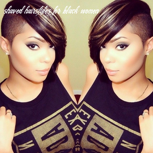 Cute Shaved Hairstyles For Black Women - Best Short Hairstyles