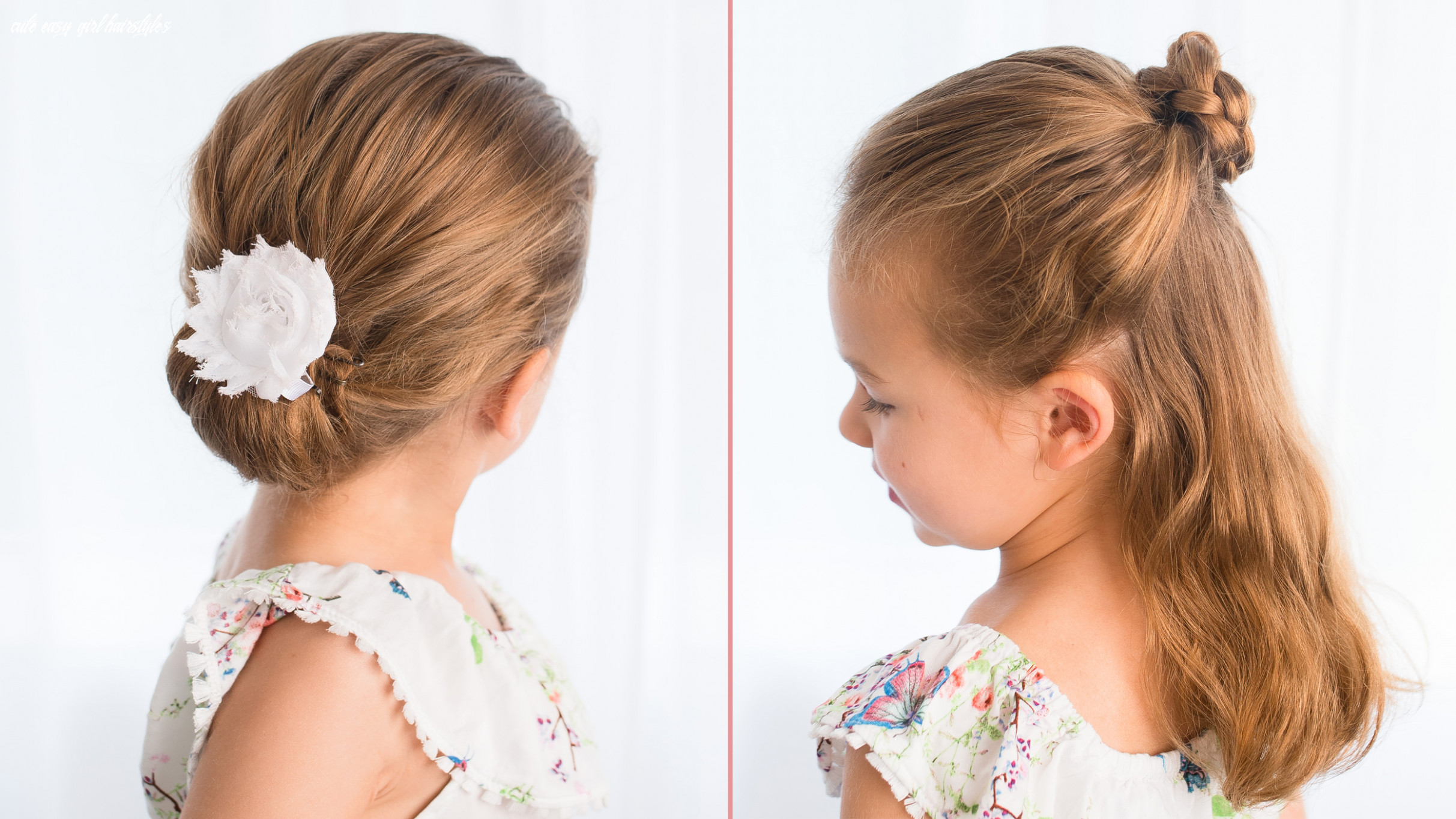 Easy hairstyles for girls that you can create in minutes