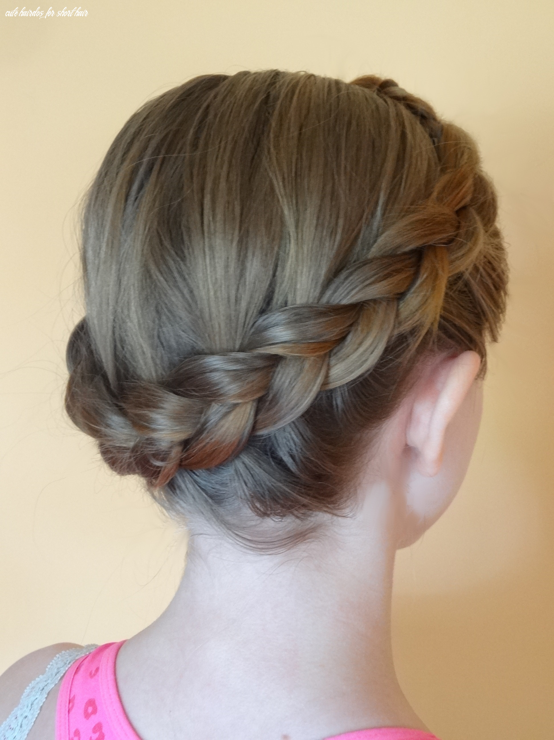 How To Braid Short Hair - 10 Fast And Easy Cute Hairstyles