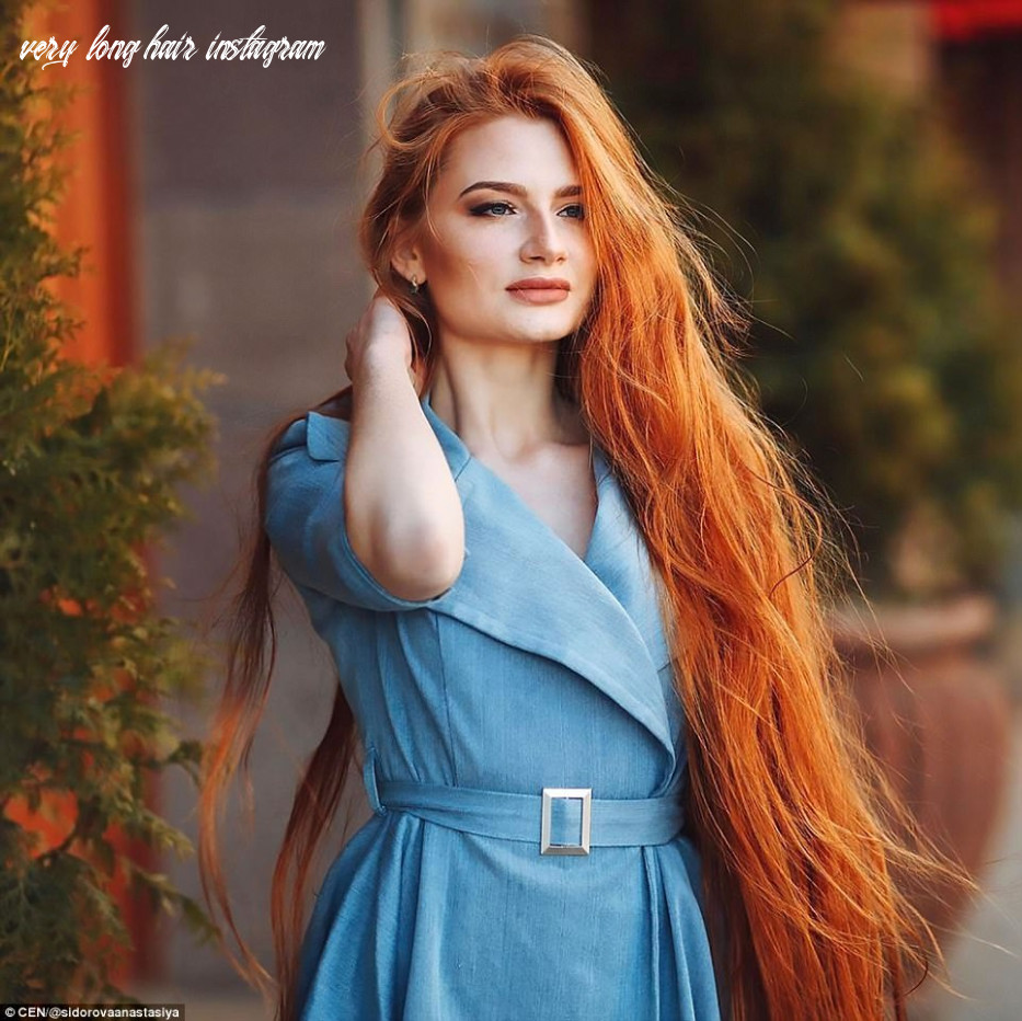 Russian woman who suffered from alopecia now has long hair ...