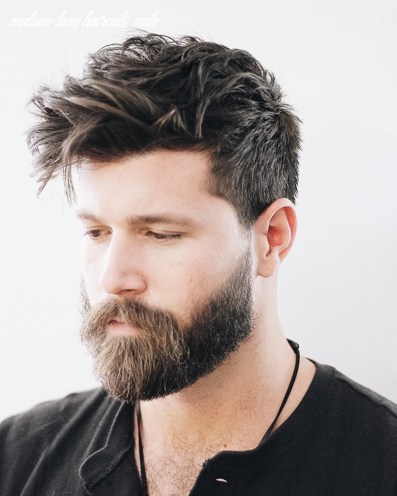 10 Best Medium-Length Haircuts For Men And How To Style Them
