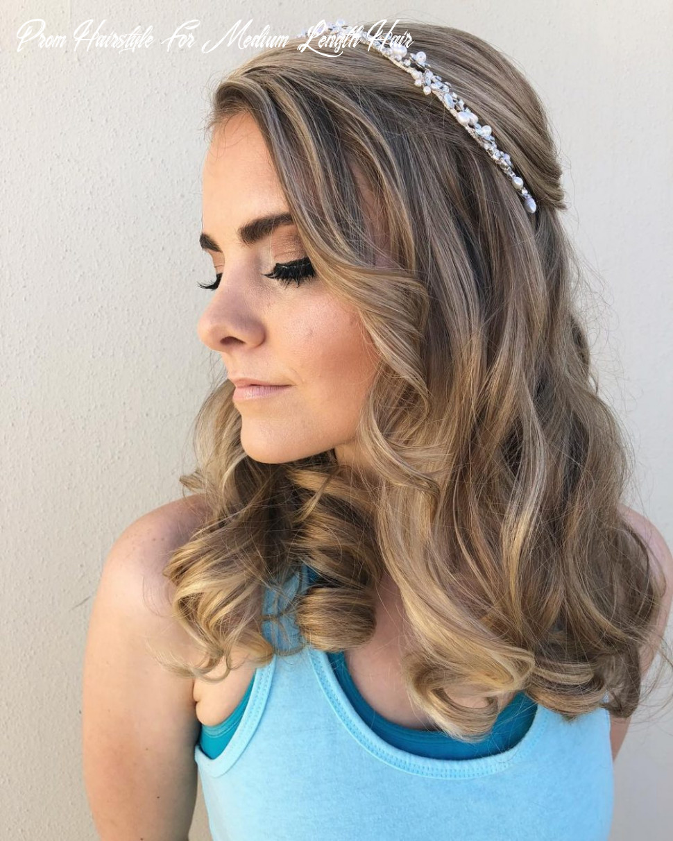 10 Cutest Prom Hairstyles for Medium Length Hair for 10