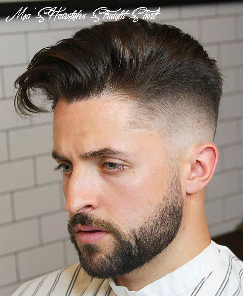 11+ Exquisite Hairstyles for Men with Straight Hair