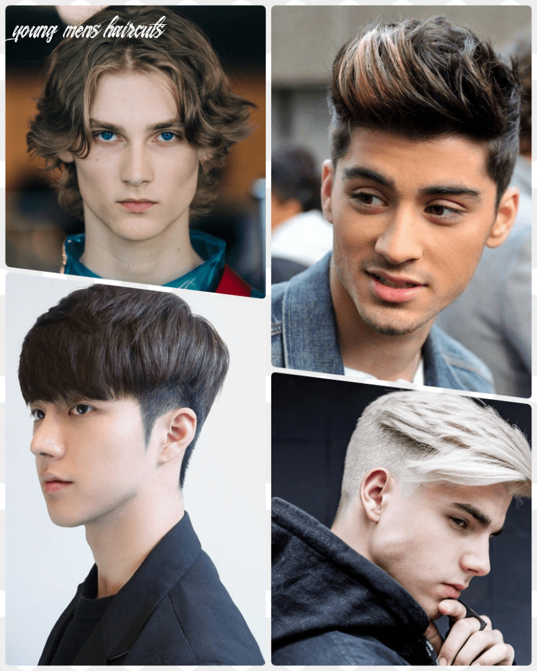 11 Haircut Inspirations You Can Try From Young Men Hairstyles ...