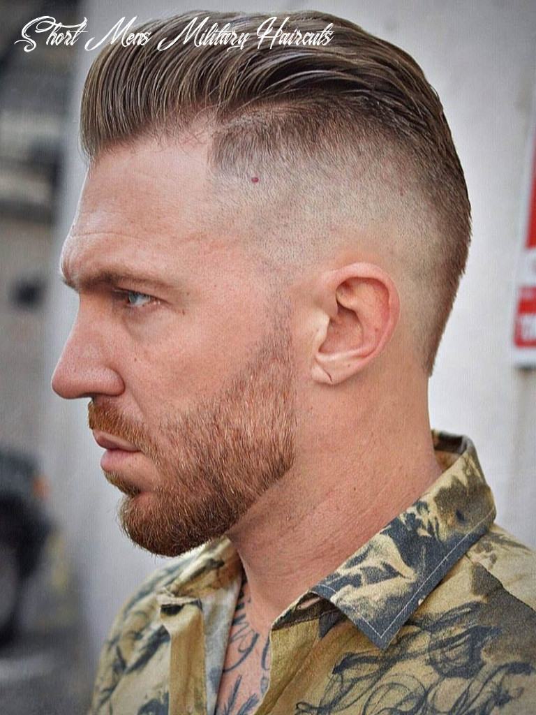 12 Awesome Military Haircuts for Men