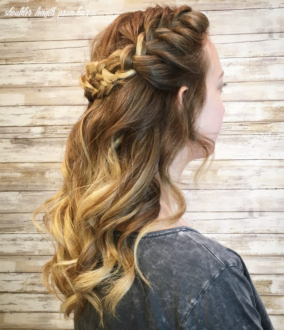 12 Cutest Prom Hairstyles for Medium Length Hair for 12