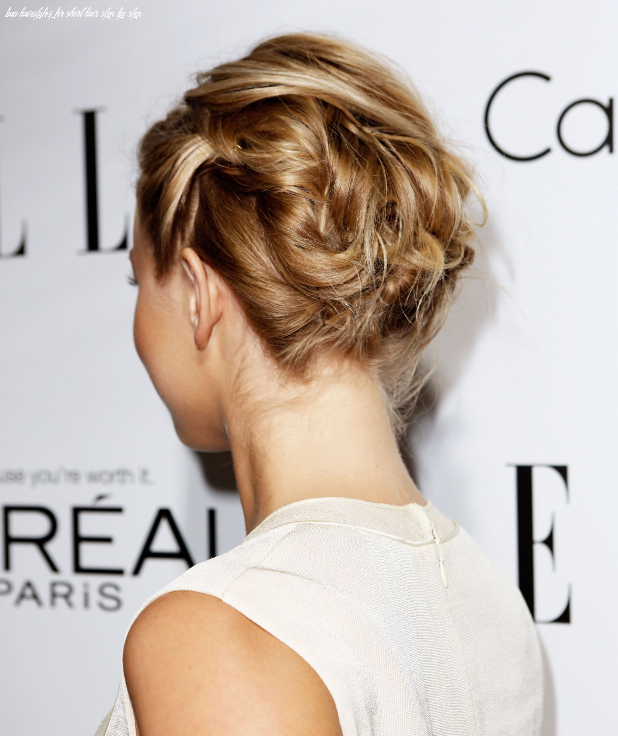 12 Incredibly Chic Updo Ideas for Short Hair