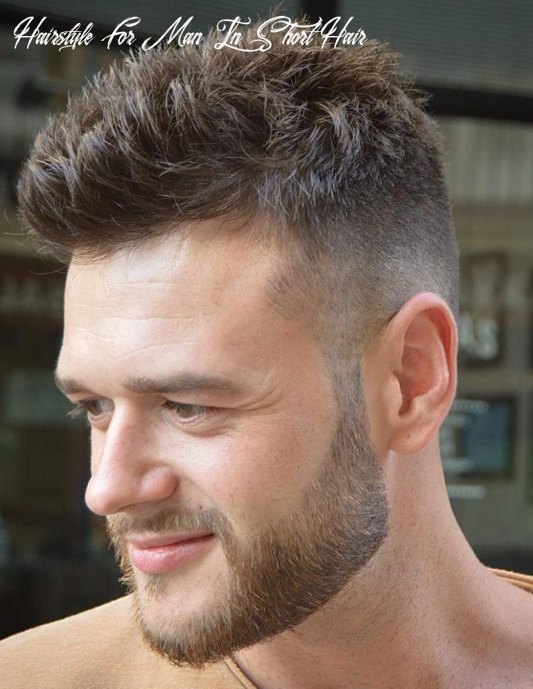 12 Short Hairstyles for Men - Be Cool And Classy - Haircuts ...