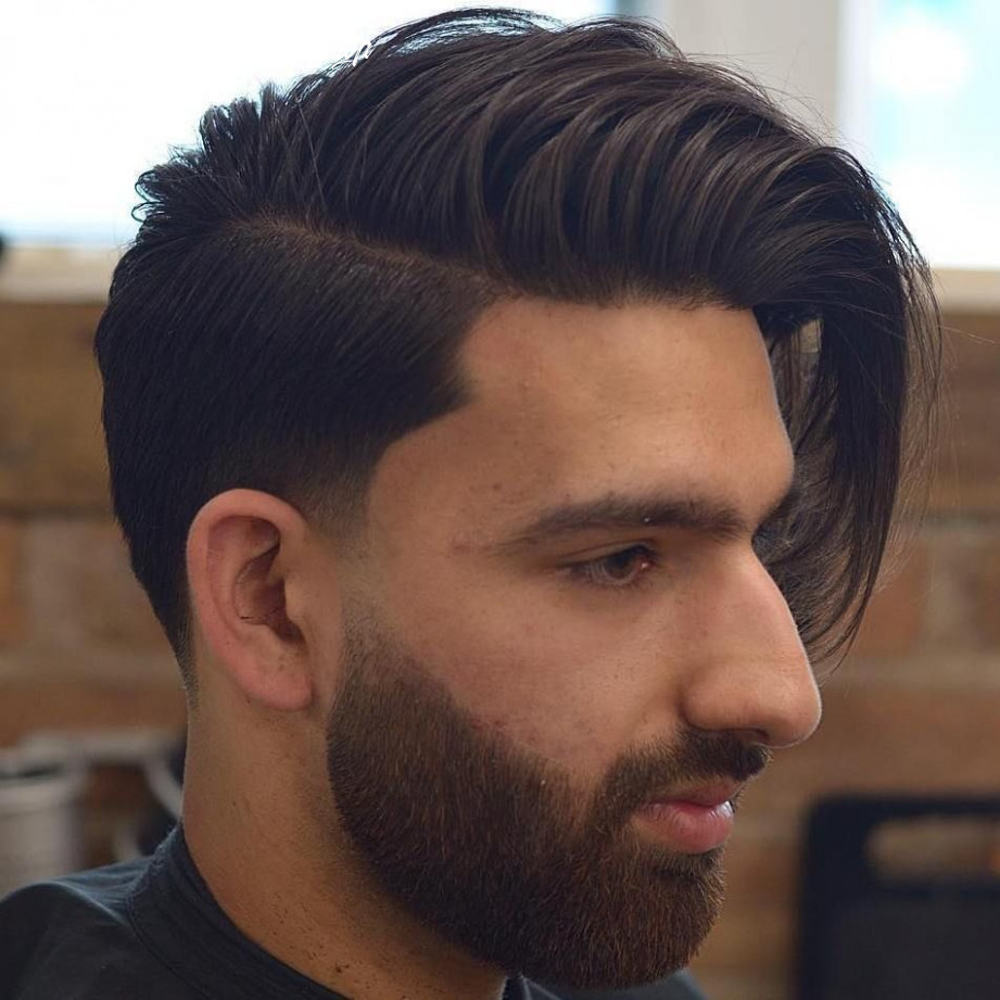 12 Statement Hairstyles for Men with Thick Hair in 12 | Side ...