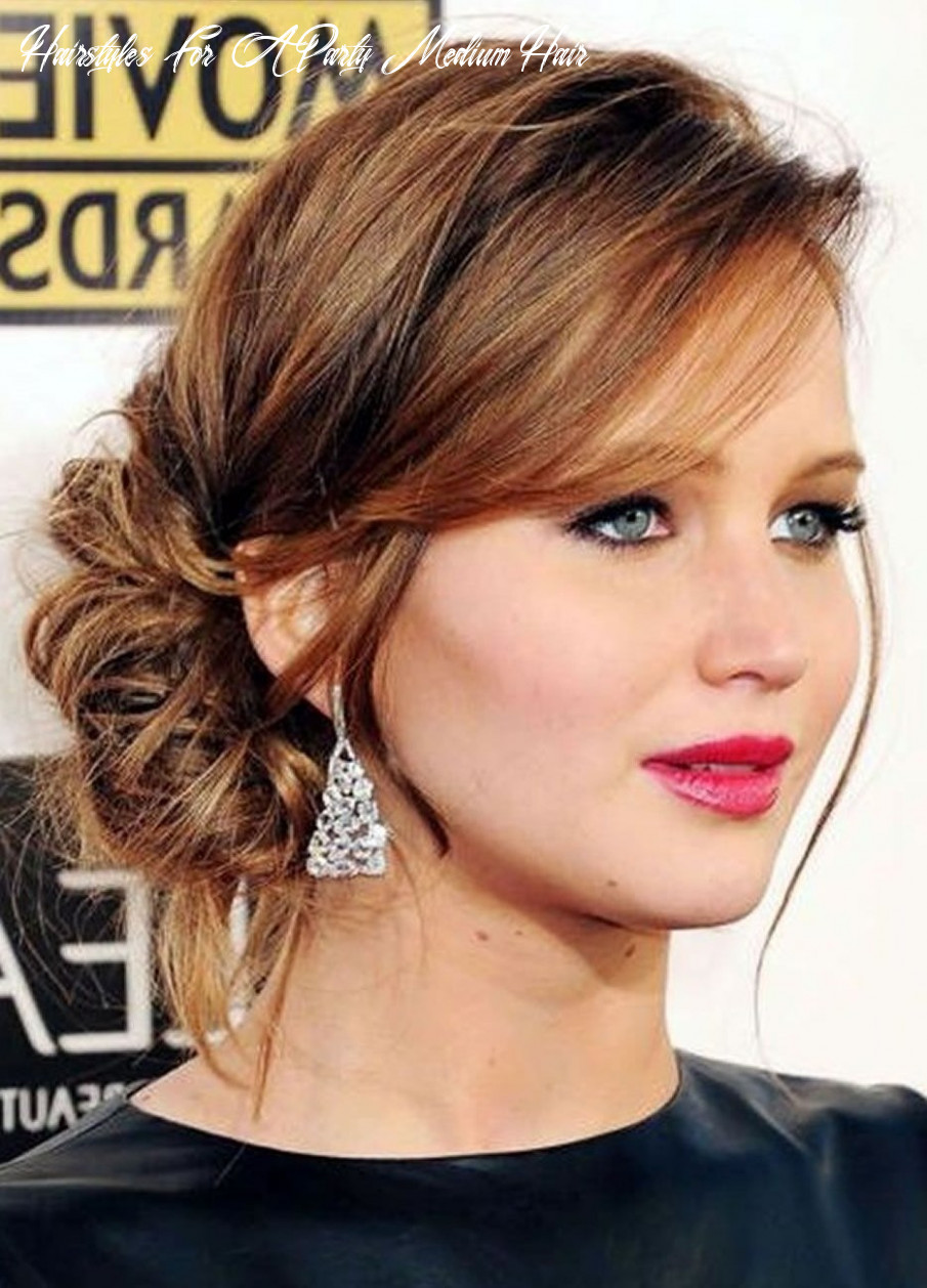 8 Awesome Party Hairstyles for Medium Hair