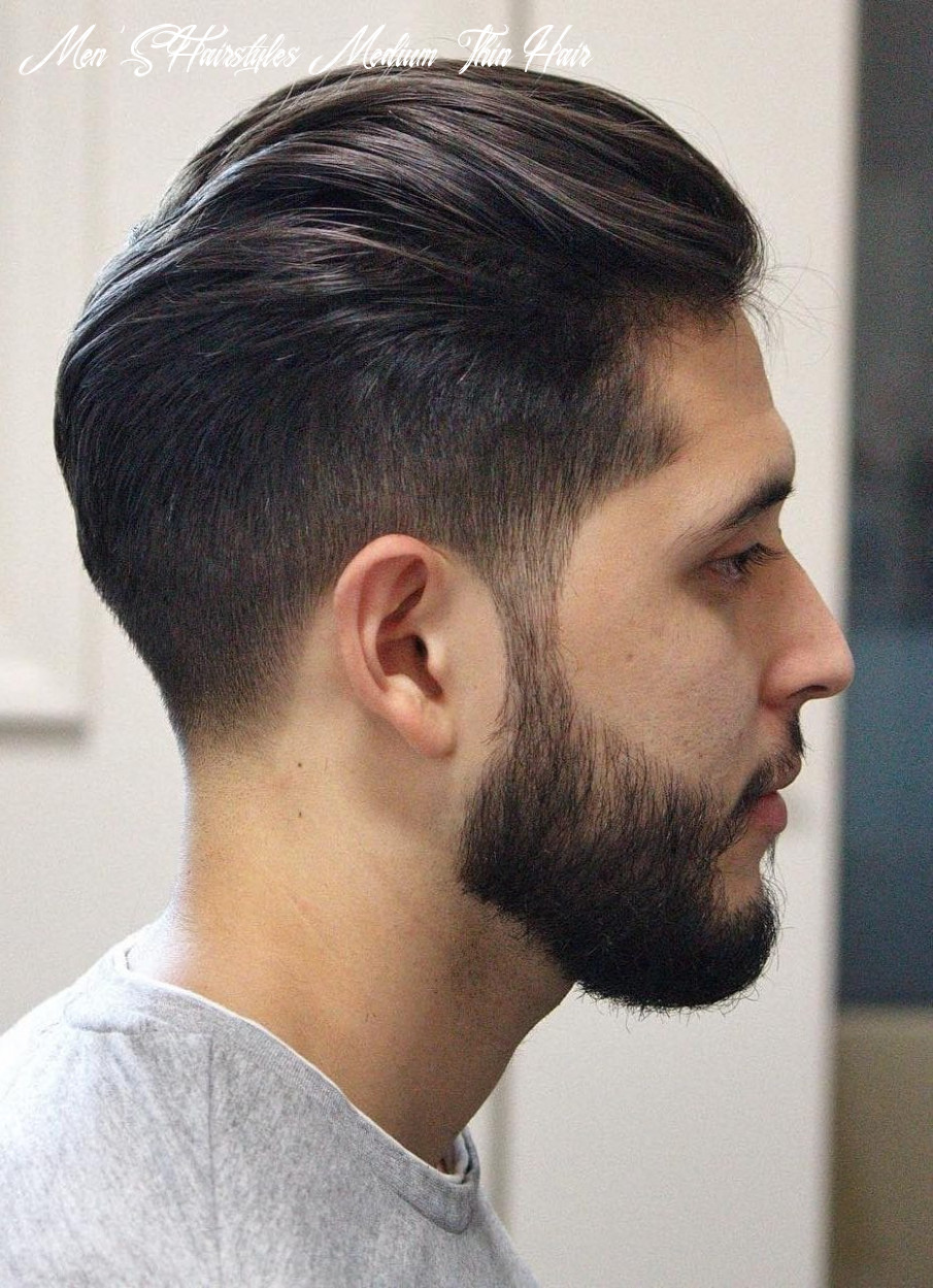 8 Hairstyles for Men With Thin Hair (Add More Volume)