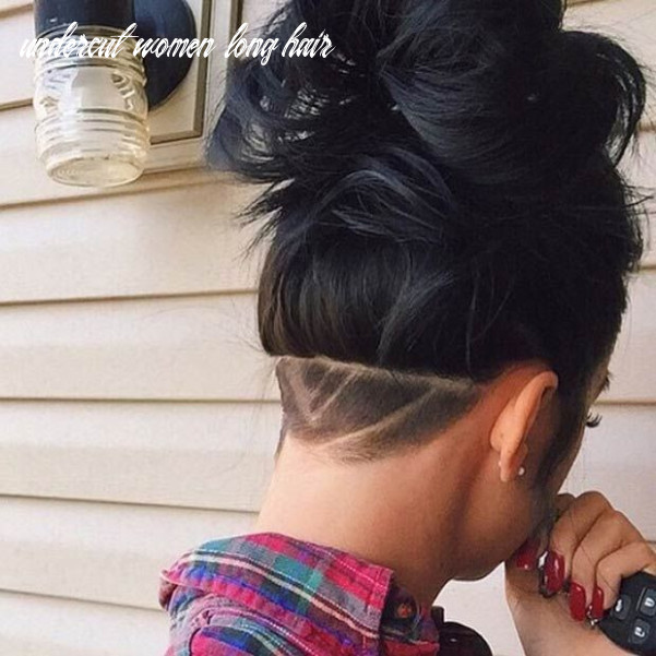 8 Most Badass Shaved Hairstyles for Women   Hair styles, Undercut ...