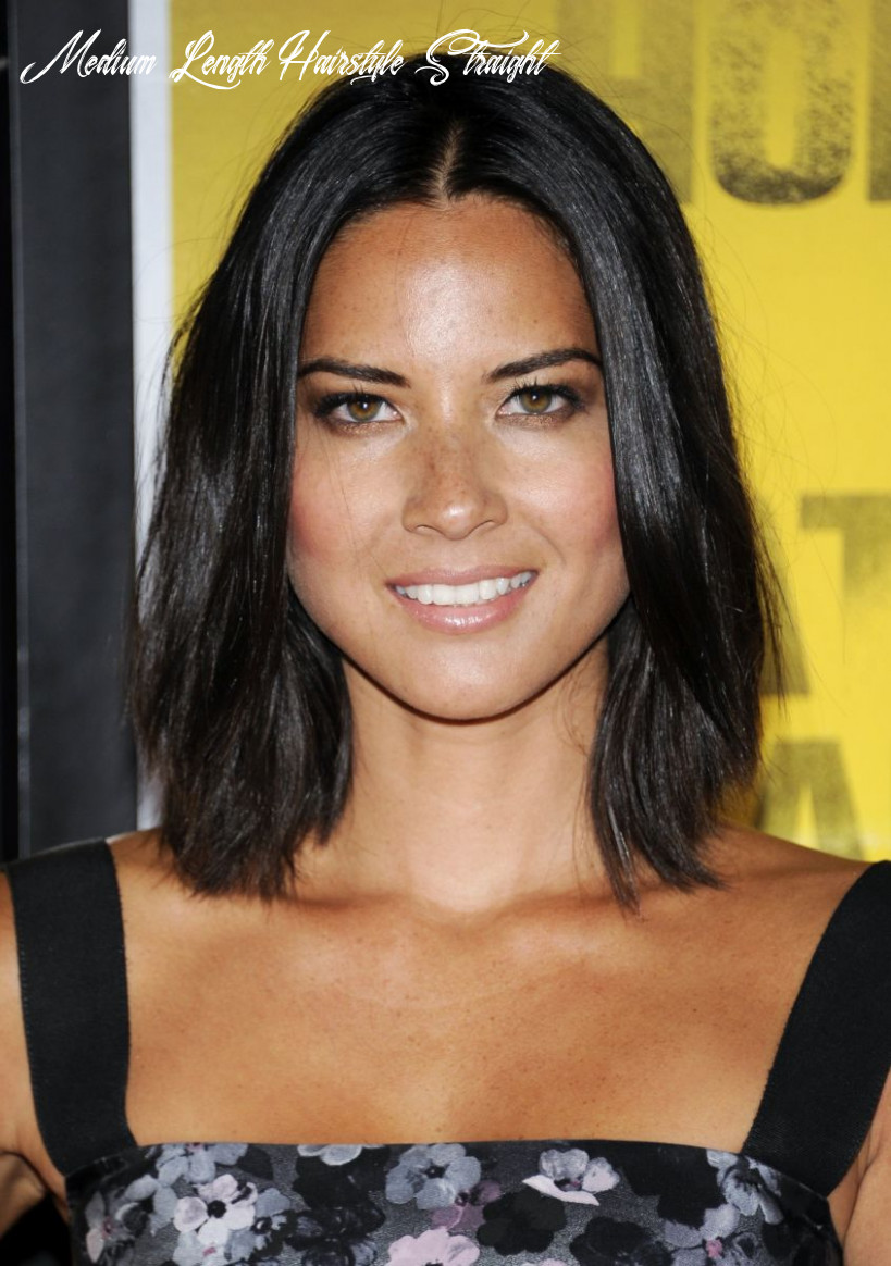 8 of the Best Hairstyles for Medium-Length Straight Hair - The ...