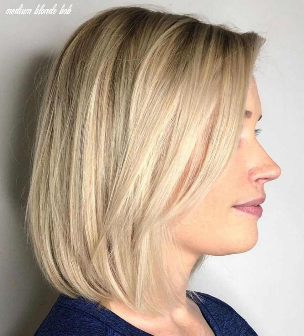8 Perfect Medium Length Hairstyles for Thin Hair   Bobs for thin ...