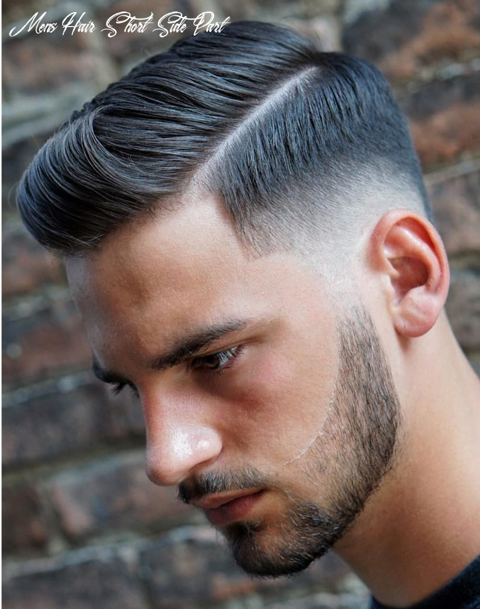 8 Side Part Haircuts: 8 Styles That Are Cool + Modern