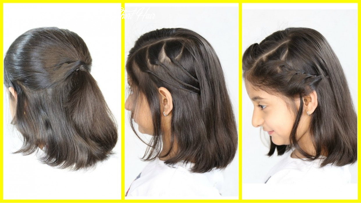 8 Simple & Cute Hairstyles (NEW) for Short/Medium Hair   MyMissAnand