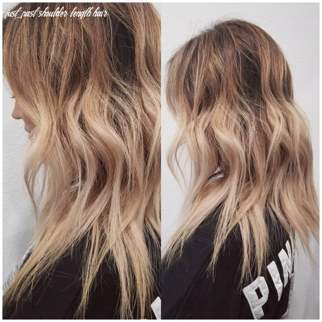 8 Wavy Shoulder Length Hairstyles 8