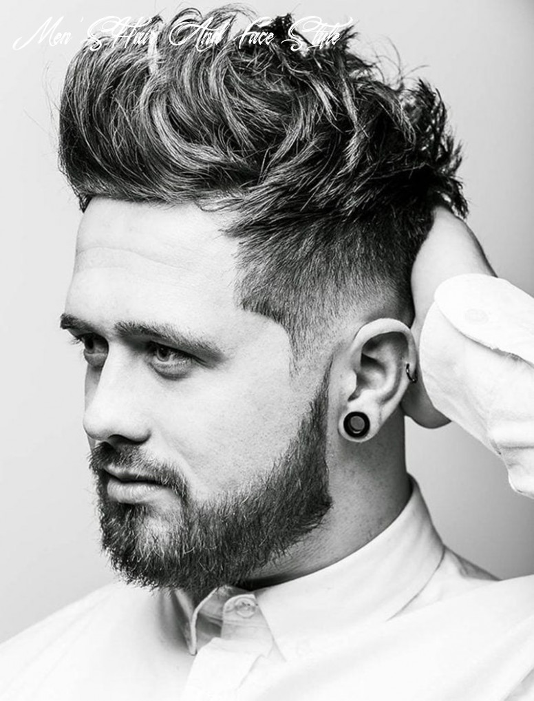 9 Hairstyles for Round Faces Men & What You can Learn From Them
