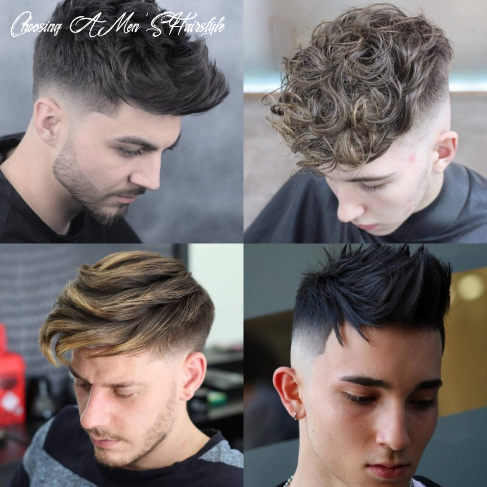 Choosing the Right Haircut for Your Face Shape - Men's Hairstyles