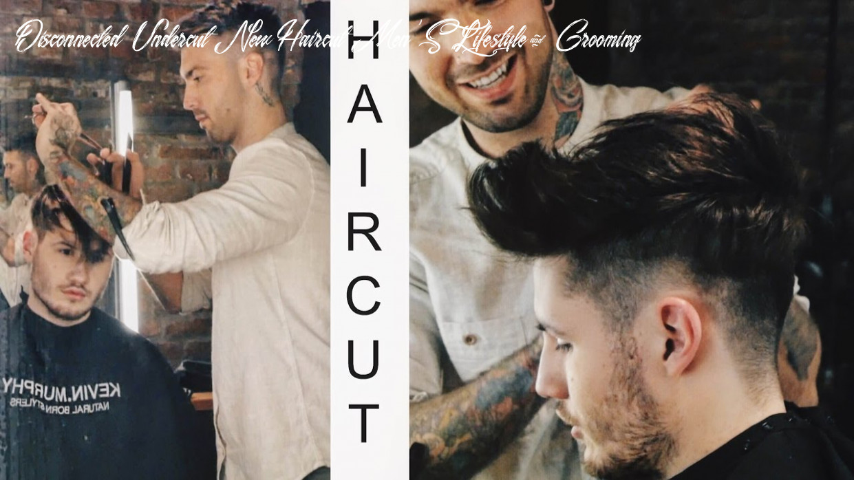 FADED UNDERCUT    NEW HAIRCUT    MEN'S LIFESTYLE & GROOMING