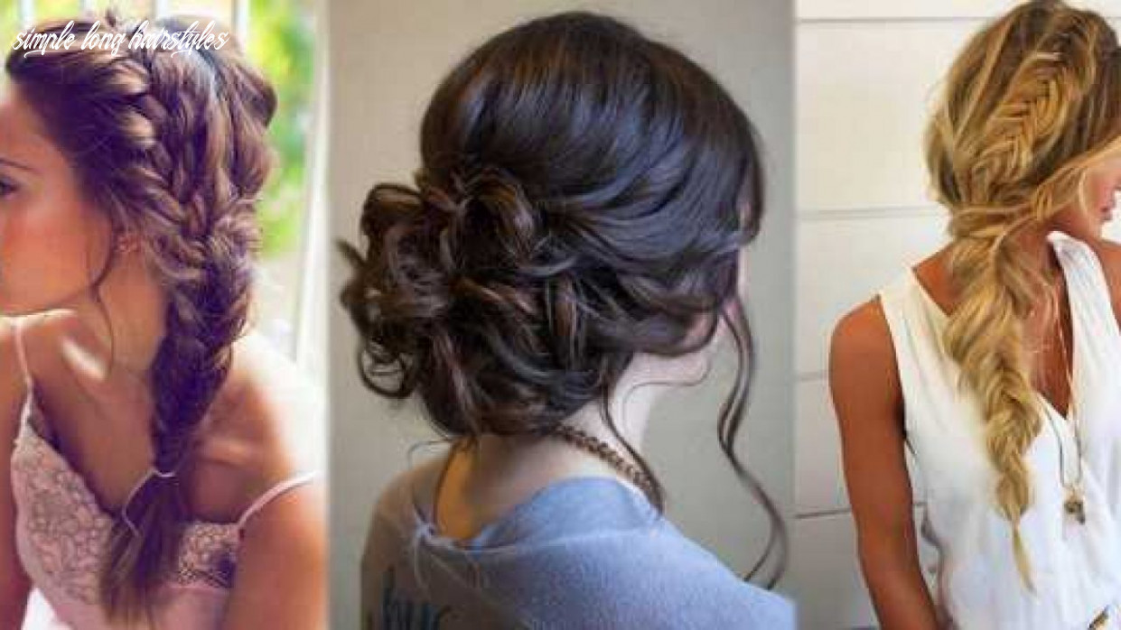 Hairstyles For Long Hair - Simple Hairstyles Step By Step- Flowers ...