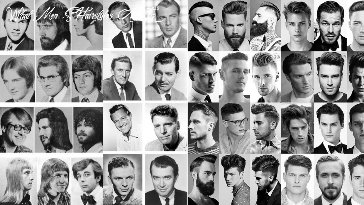 How men's hairstyles evolved in the past 11 years ~ Wikye