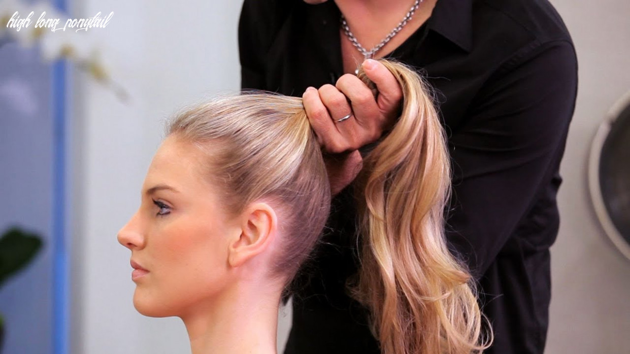 How to Do a High Ponytail   Long Hairstyles
