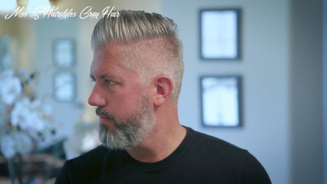 How to Own & Embrace Your Gray Hair - Men's Hair 9