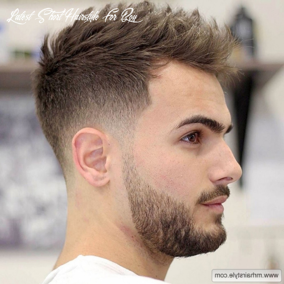 Latest Short Hairstyle For Boy