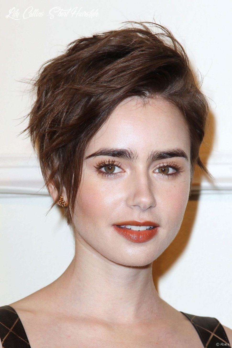 Lily Collins: how to get her tousled pixie hairstyle!
