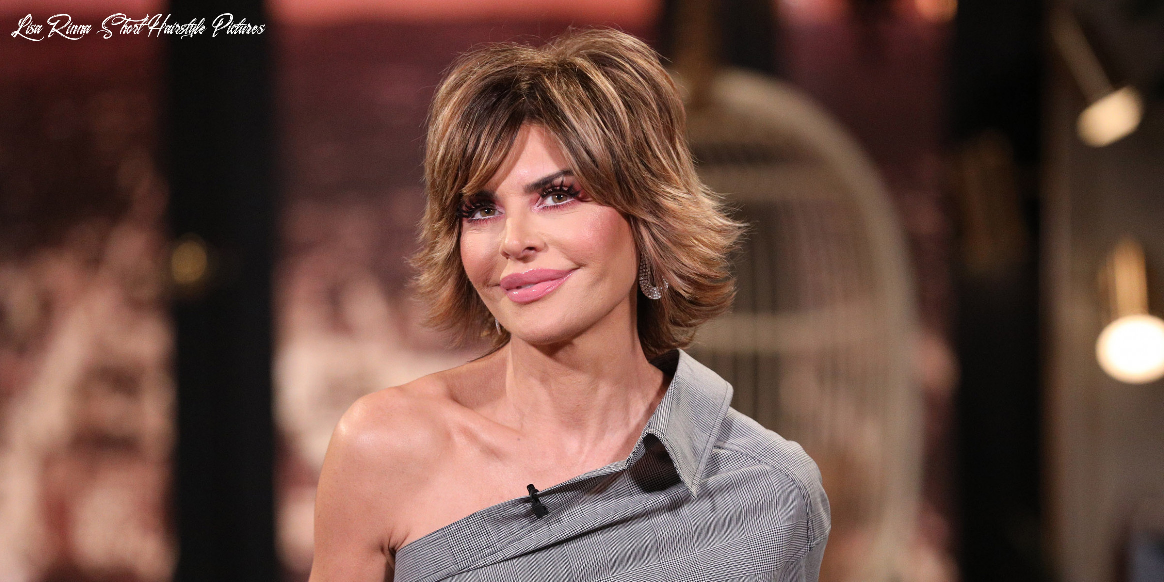 Lisa Rinna has a new hairstyle and she's given it a name — meet ...