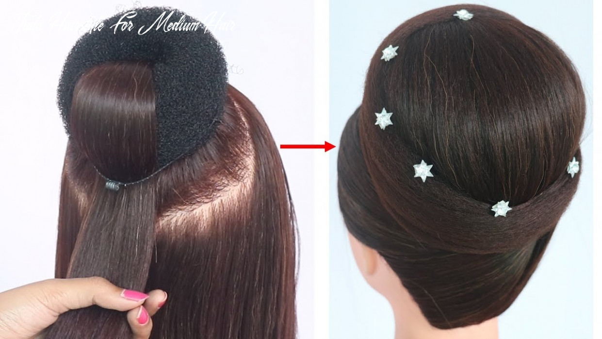 New Juda Hairstyle With Gown - WomanElle