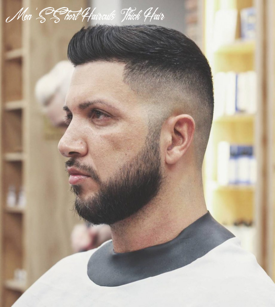 Thick Hair Men's Haircuts + Hairstyles -> 11 Killer Looks For July ...