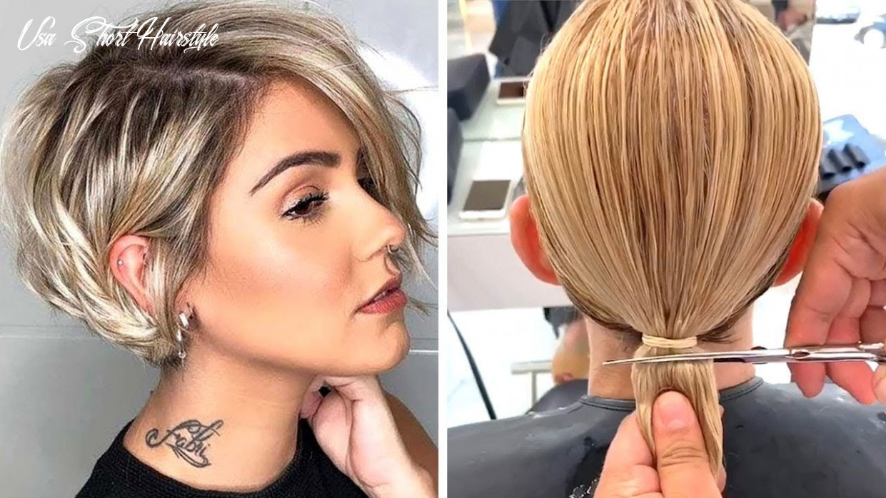 Top 11 Hair Trends 11 | All Hottest Pixie & Short Bob Cut Compilation |  Trendy Hairstyles Women
