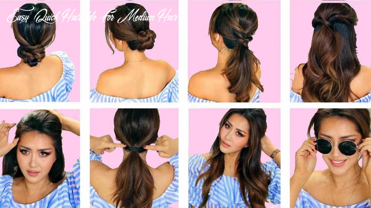 ★TOP 11 ? LAZY EVERYDAY HAIRSTYLES with PUFF ? QUICK & EASY BRAIDS & UPDO  for Long ? Medium HAIR